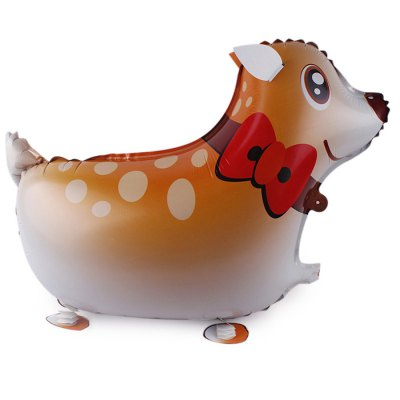 Deer Inflating Foil Balloon Auto-Seal Party Birthday Decor Toy for Kid / AdultClassic Toys<br>Deer Inflating Foil Balloon Auto-Seal Party Birthday Decor Toy for Kid / Adult<br><br>Nature: Balloon<br>Materials: Aluminum Film<br>Appliable Crowd: Unisex<br>Package weight: 0.012 kg<br>Package size: 10.00 x 10.00 x 10.00 cm / 3.94 x 3.94 x 3.94 inches<br>Package Contents: 1 x Deer Balloon