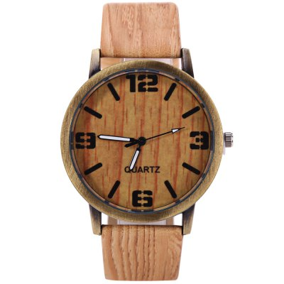 Quartz Unisex Watch Wooden Texture Round Dial Leather BandUnisex Watches<br>Quartz Unisex Watch Wooden Texture Round Dial Leather Band<br><br>People: Unisex table<br>Watch style: Casual<br>Available color: Beige,Brown,Deep Brown,Gray,Light Brown<br>Shape of the dial: Round<br>Movement type: Quartz watch<br>Display type: Analog<br>Case material: Alloys<br>Band material: Leather<br>Clasp type: Pin buckle<br>The dial thickness: 1.0 cm / 0.39 inches<br>The dial diameter: 4.0 cm / 1.57 inches<br>The band width: 2.0 cm / 0.79 inches<br>Wearable length: 18.5 - 21.5 cm / 7.28 - 8.46 inches<br>Product weight: 0.029 kg<br>Package weight: 0.059 kg<br>Product size (L x W x H): 24.50 x 4.00 x 1.00 cm / 9.65 x 1.57 x 0.39 inches<br>Package size (L x W x H): 25.50 x 5.00 x 2.00 cm / 10.04 x 1.97 x 0.79 inches<br>Package Contents: 1 x Unisex Watch