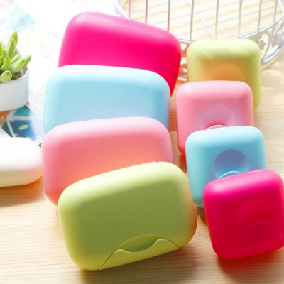 Hiking Soap Case Portable Leak-proof Soap Box with LockOther Bathroom Accessories<br>Hiking Soap Case Portable Leak-proof Soap Box with Lock<br><br>Material: Plastic<br>Package weight: 0.100 kg<br>Package size (L x W x H): 14.00 x 10.00 x 6.00 cm / 5.51 x 3.94 x 2.36 inches<br>Package Contents: 1 x Soap Box