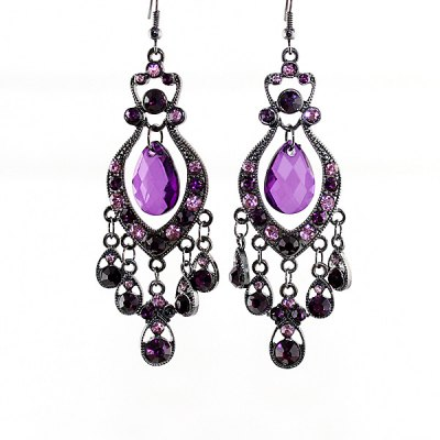 ER-5220 Hollow-out Earrings for Ladies 1 Pair