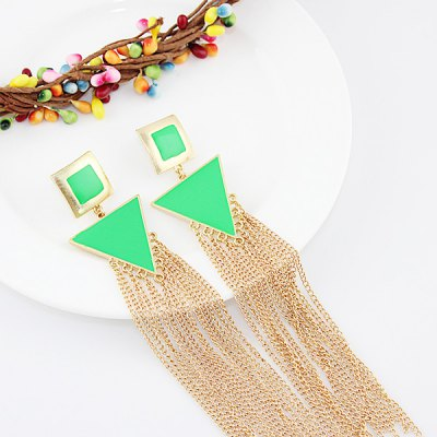 ER-5218 Triangle Earrings for Ladies 1 Pair