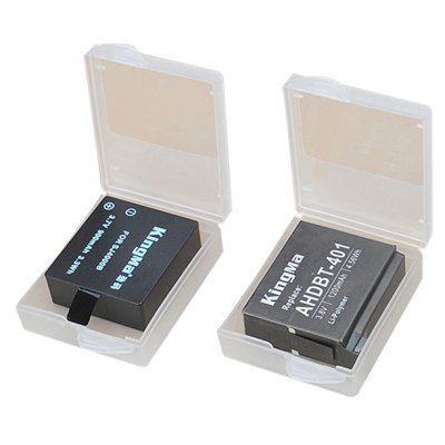 KingMa 2PCS Battery Protective Box Case Container Holder