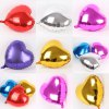 cheap 10 inch Heart Inflating Foil Balloon Auto-Seal Party Decoration Toy for Kids / Adult