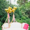 10 inch Heart Inflating Foil Balloon Auto-Seal Party Decoration Toy for Kids / Adult deal