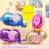 Elephant Inflating Foil Balloon Auto-Seal Party Decoration Toy for Kids / Adult for sale