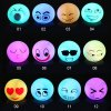 cheap Facial Expression Shape LED Night Light Atmosphere Beside Lamp