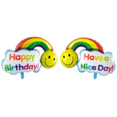 Rainbow Inflating Foil Balloon Auto-Seal Party Birthday Decor Toy for Kid / AdultClassic Toys<br>Rainbow Inflating Foil Balloon Auto-Seal Party Birthday Decor Toy for Kid / Adult<br><br>Nature: Balloon<br>Materials: Aluminum Film<br>Appliable Crowd: Unisex<br>Package weight: 0.012 KG<br>Package size: 10.00 x 10.00 x 10.00 cm / 3.94 x 3.94 x 3.94 inches<br>Package Contents: 1 x Rainbow Balloon