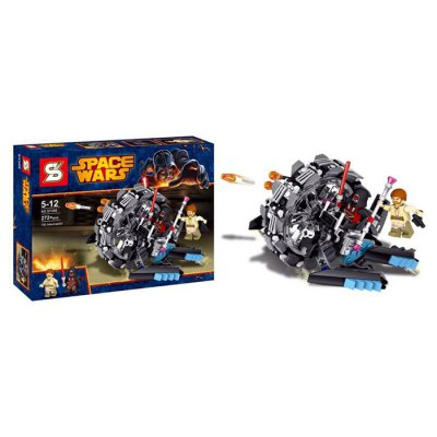 SY309 Block General Grievous Chariot Style Educational Toy 272Pcs / SetBlock Toys<br>SY309 Block General Grievous Chariot Style Educational Toy 272Pcs / Set<br><br>Materials: ABS<br>Theme: Movie and TV<br>Gender: Unisex<br>Completeness: Semi-finished Product<br>Stem From: Europe and America<br>Package weight: 0.350 kg<br>Package size: 20.00 x 6.00 x 6.00 cm / 7.87 x 2.36 x 2.36 inches<br>Package Contents: 272 x Block