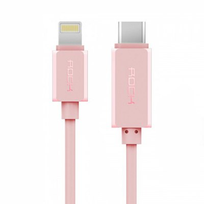Rock 1m USB Type-C to 8 Pin Charging Data Sync Cable