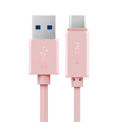 Rock 1m USB 3.0 to USB Type-C Interface CableChargers &amp; Cables<br>Rock 1m USB 3.0 to USB Type-C Interface Cable<br><br>Accessories type: Cable<br>Brand: Rock<br>Cable Length (cm): 1m / 39.4 inch<br>Color: Black,Pink,White<br>Compatible with: Xiaomi 4C, Sony Xperia Z5, OnePlus Two, Microsoft Lumia 950 XL, Microsoft Lumia 950, Letv 1S, Letv 1 Pro, Letv 1<br>Interface Type: USB Type-C, USB 3.0<br>Mainly Compatible with: Sony, Xiaomi, Letv<br>Material ( Cable&amp;Adapter): PVC<br>Package Contents: 1 x Cable<br>Package size (L x W x H): 19.00 x 8.50 x 1.90 cm / 7.48 x 3.35 x 0.75 inches<br>Package weight: 0.085 kg<br>Product weight: 0.032 kg<br>Type: Cable