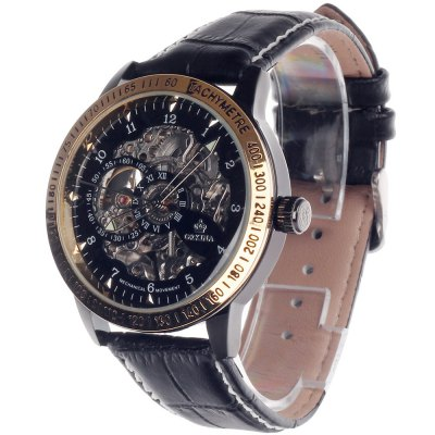 ФОТО Orkina Hollow-out Design Automatic Mechanical Man Watch