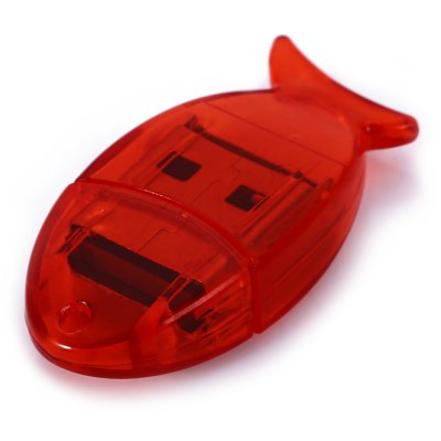 Maikou Fish Type Micro SD Card Reader With USB 2.0 Interface