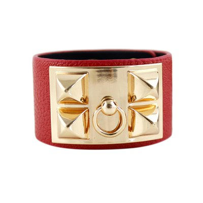 BR-7209 Rivet Embellishment Punk Bracelet Wrist OrnamentBracelets &amp; Bangles<br>BR-7209 Rivet Embellishment Punk Bracelet Wrist Ornament<br><br>Occasions: Casual,Gift,Party,Performance,Personalized Photo<br>Material: PU + Zinc Alloy<br>Gender: Unisex<br>Style: Fashion<br>Product weight: 0.040 kg<br>Package weight: 0.070 kg<br>Package size (L x W x H): 10.00 x 10.00 x 10.00 cm / 3.94 x 3.94 x 3.94 inches<br>Package Contents: 1 x Bracelet