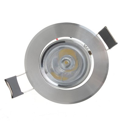LUO 1W 3000 - 3500K Epistar LED Wiring Ceiling Light 90Lm AC 85 - 265V Downlight