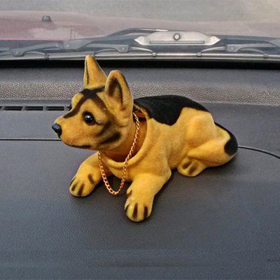 Car Cartoon Dog Pattern DecorationCar Ornaments &amp; Pendant<br>Car Cartoon Dog Pattern Decoration<br><br>Type: Other Decorations<br>Color: Assorted Colors,Black,Brown,Gray,White<br>Product weight: 0.120 kg<br>Package weight: 0.180 kg<br>Product size (L x W x H): 17.00 x 7.00 x 10.00 cm / 6.69 x 2.76 x 3.94 inches<br>Package size (L x W x H): 20.00 x 8.00 x 12.00 cm / 7.87 x 3.15 x 4.72 inches<br>Package Contents: 1 x Dog Pattern Decoration