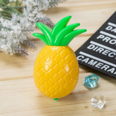 Pineapple Shaped LED Night Light Romantic Nightlight Bedside LampDecorative Lights<br>Pineapple Shaped LED Night Light Romantic Nightlight Bedside Lamp<br><br>Type: Decorative Lighting<br>Decorative Style: Simple and Modern<br>For: Bar,Cafe,Clothing Store,Home,Hotel,Lover,Office,Other,Restaurant,School,Student<br>Material: ABS<br>Features: Creative,Gift<br>Product weight: 0.055 kg<br>Package weight: 0.130 kg<br>Product size (L x W x H): 7.40 x 6.80 x 10.90 cm / 2.91 x 2.68 x 4.29 inches<br>Package size (L x W x H): 9.00 x 8.00 x 12.00 cm / 3.54 x 3.15 x 4.72 inches<br>Package Contents: 1 x LED Night Light