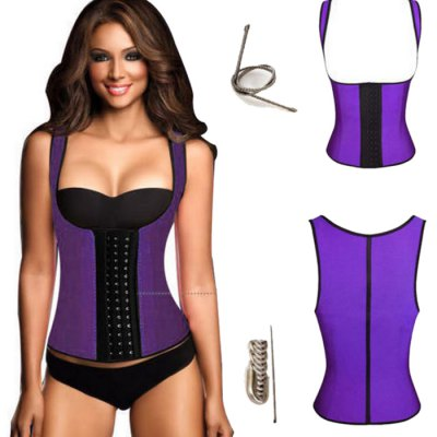 Female Double Shoulder Straps Exercising CorsetYoga<br>Female Double Shoulder Straps Exercising Corset<br><br>Size: L,M,S,XL,XXL,XXXL<br>Color: Blue,Purple,Rose Red,Skin Color<br>Product weight: 0.250KG<br>Package weight: 0.300 KG<br>Package size: 24.00 x 20.00 x 3.00 cm / 9.45 x 7.87 x 1.18 inches<br>Package Content: 1 x Female Double Shoulder Straps Exercising Corset