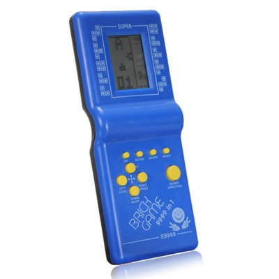 Classic Tetris Game Electronic Toys Hand Held GamepadHandheld Games<br>Classic Tetris Game Electronic Toys Hand Held Gamepad<br><br>Compatible with: Built-in Games<br>Battery Type: Removable<br>Power Supply: 2 AA Batteries<br>Product weight: 0.080 kg<br>Package weight: 0.110 kg<br>Product size: 14.20 x 6.50 x 1.80 cm / 5.59 x 2.56 x 0.71 inches<br>Package size: 18.50 x 7.50 x 2.00 cm / 7.28 x 2.95 x 0.79 inches<br>Package Contents: 1 x Tetris Game Toys