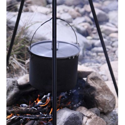 ALOCS CW-RT03 6.5L Camping Hung Pot with Folding Handle