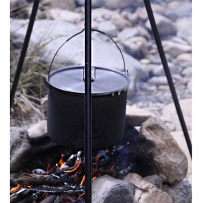 ALOCS CW-RT02 10.5L Camping Hung Pot with Folding Handle