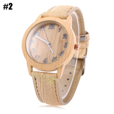Geneva 150717-1 Wood-like Female Quartz Watch Leather BandWomens Watches<br>Geneva 150717-1 Wood-like Female Quartz Watch Leather Band<br><br>Brand: Geneva<br>Watches categories: Female table<br>Movement type: Quartz watch<br>Shape of the dial: Round<br>Display type: Analog<br>Case material: Stainless Steel<br>Band material: Leather<br>Clasp type: Pin buckle<br>The dial thickness: 1.1 cm / 0.43 inches<br>The dial diameter: 4.1 cm / 1.61 inches<br>The band width: 2.0 cm / 0.78 inches<br>Wearable length: 18.4 - 22.2 cm / 7.24 - 8.74 inches<br>The band length: 24.5 cm / 9.65 inches<br>Product weight: 0.036 kg<br>Package weight: 0.066 kg<br>Product size (L x W x H): 24.50 x 4.40 x 1.10 cm / 9.65 x 1.73 x 0.43 inches<br>Package size (L x W x H): 25.50 x 5.40 x 2.10 cm / 10.04 x 2.13 x 0.83 inches<br>Package Contents: 1 x Geneva Watch