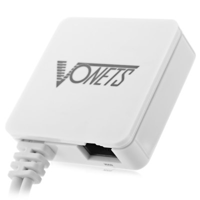 Vonets VAR11N - 300 Mini Wireless Networking Router / Bridge WiFi Repeater Power Supply by USB DC 5V