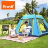 cheap Hewolf 4-Person Summer Automatic Camping Tent
