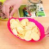 Plastic Leaf Shaped Candy Dish Fruit Plate deal