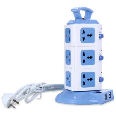 JKB JKB-801-3 10-Port Handheld Socket