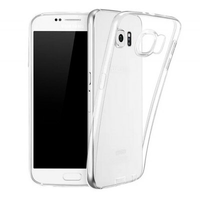 ASLING Protective Transparent Case for Samsung Galaxy S6 G9200 TPU Material