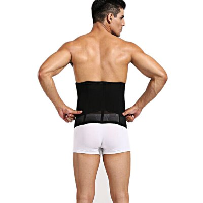 Men One-piece Thickened Elastic Fat Thin Belt for Fitness