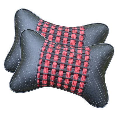 2PCS Breathable Car Soft Headrest Cushion Pillow Four Season General Neck PadCar Ornaments &amp; Pendant<br>2PCS Breathable Car Soft Headrest Cushion Pillow Four Season General Neck Pad<br><br>Color: Beige, Black, Brown, Gray<br>Type: Cushions And Pillows<br>Material: Cotton,Fiber,PVC<br>Product weight: 0.150 kg<br>Package weight: 0.220 kg<br>Product size (L x W x H): 26.00 x 27.00 x 10.00 cm / 10.24 x 10.63 x 3.94 inches<br>Package size (L x W x H): 28.00 x 28.00 x 12.00 cm / 11.02 x 11.02 x 4.72 inches<br>Package Contents: 2 x Soft Headrest Pillow