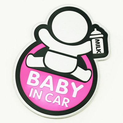 Baby in Car Safety Sign Vehicle Body Sticker Decoration Alluminum Alloy DecalCar Stickers<br>Baby in Car Safety Sign Vehicle Body Sticker Decoration Alluminum Alloy Decal<br><br>Material: Alluminum Alloy<br>Type: Car Stickers<br>Color: Blue,Green,Pink,Red,Yellow<br>Modelling  : Cartoon<br>Product weight: 0.100 kg<br>Package weight: 0.150 kg<br>Package size (L x W x H): 11.00 x 10.00 x 4.00 cm / 4.33 x 3.94 x 1.57 inches<br>Package Contents: 1 x Car Sticker