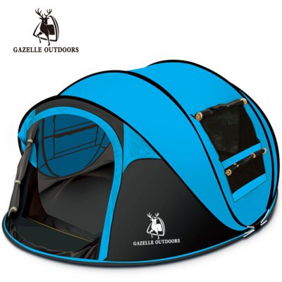 GAZELLER OUTDOORS Three Person Monolayer Automatic Tent