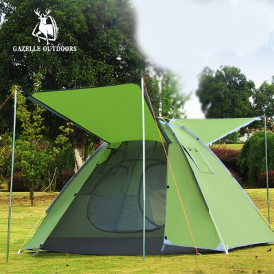GAZELLER OUTDOORS Three Person Double-layer Automatic Tent