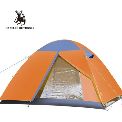 GAZELLE OUTDOORS Three Person Double-layer Tent