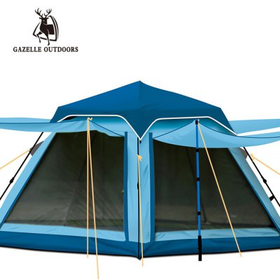 GAZELLE OUTDOORS 3-4 Person Automatic Camping Tent