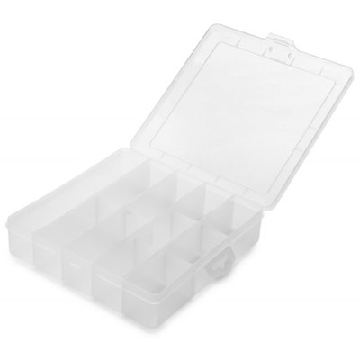Weitus 11 Grid Electronic Parts Storage Case Container