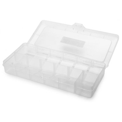 Weitus 12 Grid Electronic Parts Storage Box Case