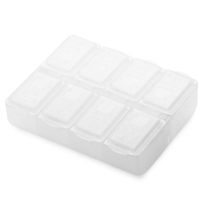 8 Grid Small PP Component Storage Box Container
