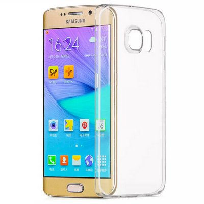 ASLING Protective Transparent Case for Samsung Galaxy S6 Edge Plus TPU Material