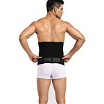 cheap Men One-piece Thickened Elastic Fat Thin Belt for Fitness