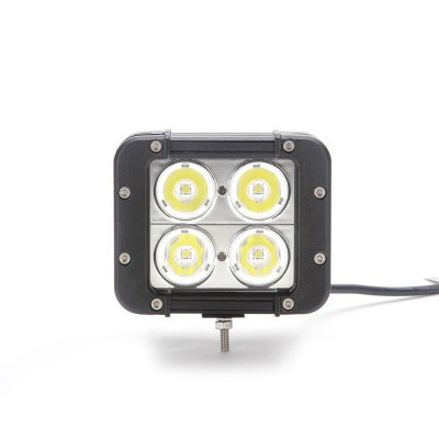 DYSC40-40W-SPOT 40W 4000lm SUV Auto Working LightCar Headlights<br>DYSC40-40W-SPOT 40W 4000lm SUV Auto Working Light<br><br>Model: DYSC40-40W-SPOT<br>Type: Work Light<br>Connector: Cable Connector<br>LED type: CREE<br>LED/Bulb quantity: 4pcs<br>Feature: Spotlight<br>Emitting color : White<br>Voltage: 10-60V<br>Power: 40W<br>Lumens: 4000lm<br>Material: Metal,Plastic<br>Type of lamp-house : LED<br>Apply lamp position : External Lights<br>Product weight: 1.000 kg<br>Package weight: 1.300 kg<br>Product size (L x W x H): 11.80 x 10.00 x 9.20 cm / 4.65 x 3.94 x 3.62 inches<br>Package size (L x W x H): 18.50 x 16.50 x 14.50 cm / 7.28 x 6.50 x 5.71 inches<br>Package Contents: 1 x Car Work Light, 2 x Bracket, 2 x Spacer, 1 x Nut