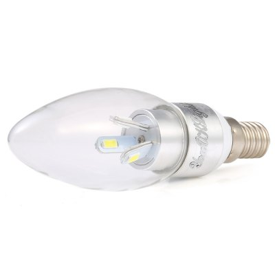10 x YouOKLight E14 SMD 5630 3W 300Lm Dimming LED Candle Bulb