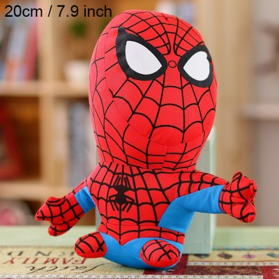 Duobuduo 20 / 32cm Height Movie Hero Plush Toy Stuffed Doll Home Decoration