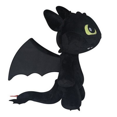 Cute Stuffed Toothless Dragon Plush Toy Stuffed Doll Home Decoration Great Gift