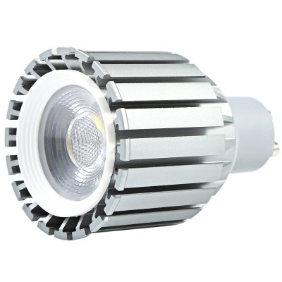 9W GU10 1100LM COB LED Spot BulbLED Light Bulbs<br>9W GU10 1100LM COB LED Spot Bulb<br><br>Holder: GU10<br>Type: Spot Bulbs<br>Output Power: 9W<br>Emitter Types: COB<br>Total Emitters: 1<br>Luminous Flux: 1100Lm<br>CCT/Wavelength: 6000-6500K<br>Voltage (V): AC85-265<br>Features: Long Life Expectancy,Low Power Consumption<br>Function: Commercial Lighting,Home Lighting,Studio and Exhibition Lighting<br>Available Light Color: Cool White<br>Product weight: 0.076KG<br>Package weight: 0.120 KG<br>Product size (L x W x H): 8.00 x 4.90 x 4.90 cm / 3.15 x 1.93 x 1.93 inches<br>Package size (L x W x H): 9.20 x 5.30 x 5.30 cm / 3.62 x 2.09 x 2.09 inches<br>Package Contents: 1 x GU10 9W LED Spot Light