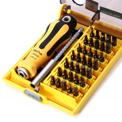 Weitus 37 in 1 Screwdriver Kit Repair Tool