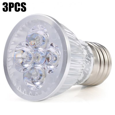 3pcs YouOKLight E27 4W 400LM 4 x LED Spotlight