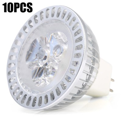 10 x YouOKLight MR16 3W 300LM Dimming LED Spotlight